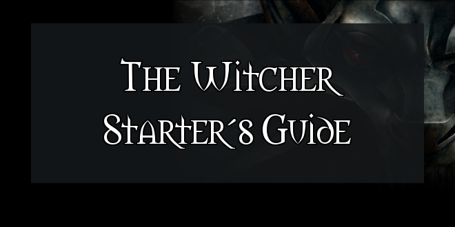 The Witcher Starter Guide Header