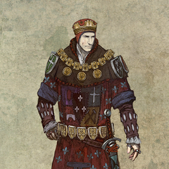 Foltest - Concept Art (The Witcher 2).