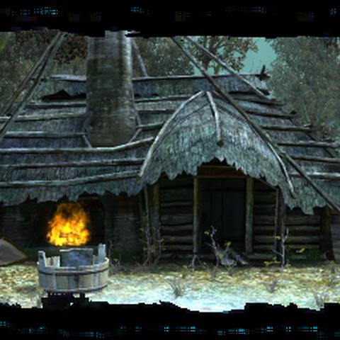 Chata Vaski w wiosce