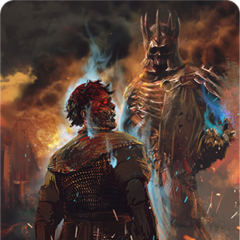 Eredin gwent card art (bronze level)