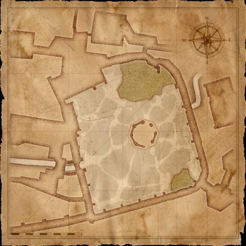 Map of Vizima's cemetery