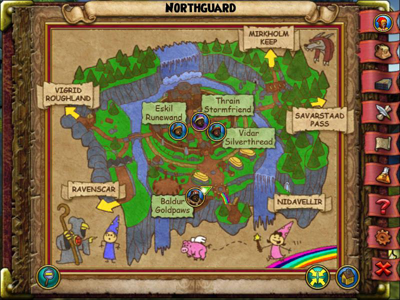 Northguard Map