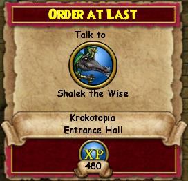 Order At Last