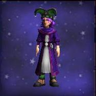 Robe WC Amethyst Studded Cloak