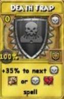 Death Trap Treasure Card