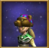Hat Bear Mantle Female