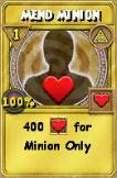 Mend Minion Treasure Card