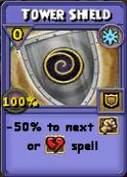 Tower Shield Item Card