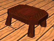 Wood-Carven Stool