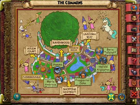 The Commons Smith Map