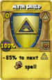 Myth Shield Treasure Card