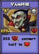 Vampire Item Card