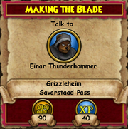 Making the Blade