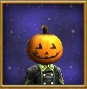 Hat WC Happy Pumpkin Mask