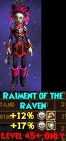 Raiment of the Raven Female
