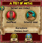 A Test of Metal 1