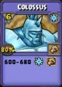Colossus Item Card