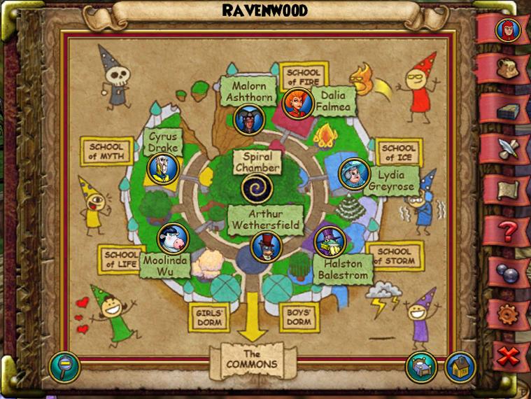 Map WC Ravenwood