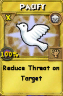 Pacify Treasure Card