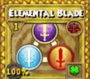 Elemental Blade Treasure Card