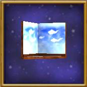 CloudedWallScreen-KrokotopiaHouseItem