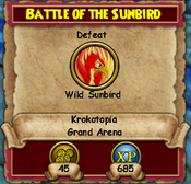 Battle Of The Sunbird