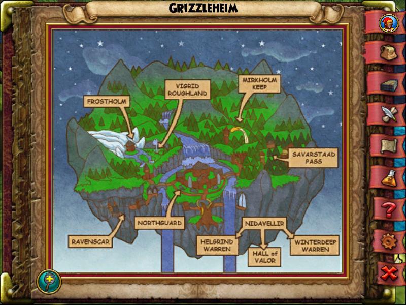 Grizzleheim Map