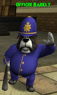 Officer Barkly