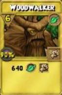 Woodwalker Treasure Card