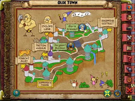 The Olde Town Smith Map
