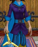 Robe WC Armored Tunic Female