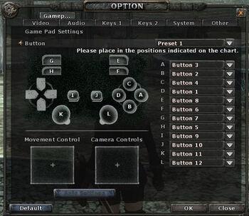 Options-game-pad