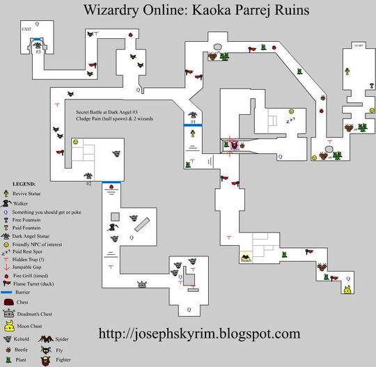 Josephsky's Kaoka Map