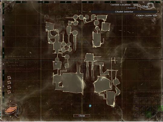 Chikor Castle Site Middle