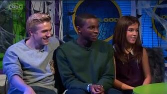 Aimee, Bobby & Kedar In The CBBC Office (Live Link) 2012