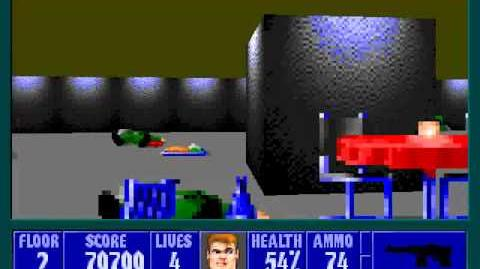 Spear Of Destiny 3 - Ultimate Challange - Floor 2 (Upper Bunker Area 2)