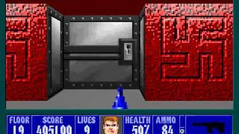 Spear Of Destiny 3 - Ultimate Challange - Floor 5 (Upper Bunker Area Secret) Part 1