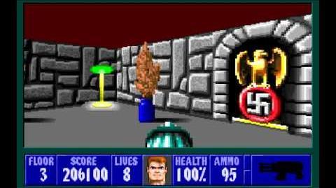 Wolfenstein 3D (id Software) (1992) Episode 5 - Trail of the Madman - Floor 3 HD