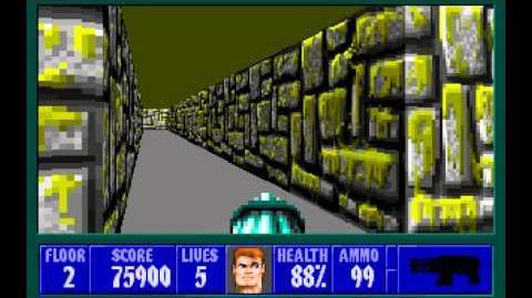 Spear of Destiny (id Software) (1992) Floor 2 HD