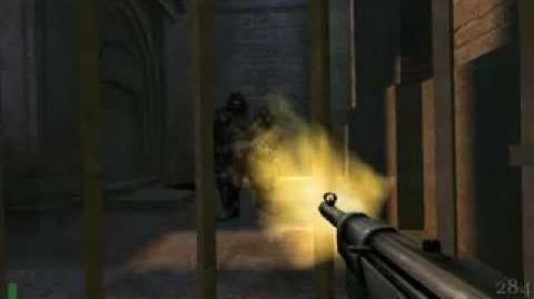 Return to castle Wolfenstein boss 1 Olaric the blacksmith