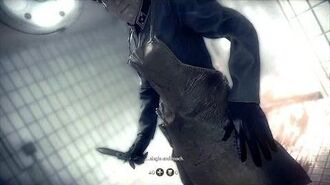 "Wolfenstein The New Order - Camp Belica BJ Tortured by ""The Knife"" Sequence, Escape Oven PS4"