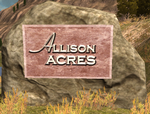 Allison-Acres sign