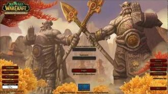 All WoW Login Music and Screens -HD-
