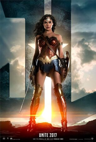 Justice League poster Wonder Woman
