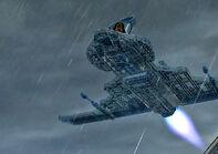 Invisible plane Lego DC Super Heroes Unite