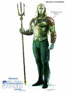 Justice League Mortal Aquaman Concept Art