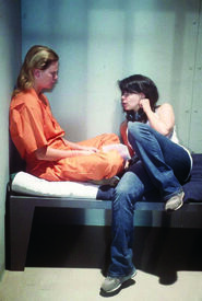 Patty Jenkins directing Charlize Theron