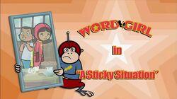 A Sticky Situation titlecard