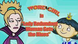 Lady Redundant Woman Gets the Blues