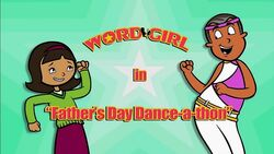Father's Day Dance-a-Thon titlecard